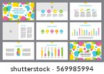 page layout template for... | Shutterstock .eps vector #569985994