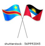 congolese and antiguan crossed... | Shutterstock .eps vector #569992045