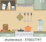 fragment of an interior of...   Shutterstock .eps vector #570017797