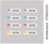 cloud raining icon | Shutterstock .eps vector #570032101