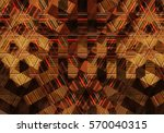 colorful mosaic illustration...   Shutterstock . vector #570040315