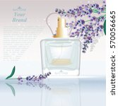 Lavender Perfume Bottle...