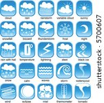 weather icon | Shutterstock .eps vector #5700607