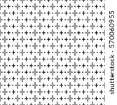 halftone pattern made of... | Shutterstock .eps vector #570060955