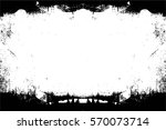 grunge black and white urban... | Shutterstock .eps vector #570073714