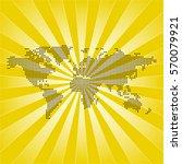 map of world   Shutterstock .eps vector #570079921