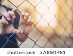 stop abusing boy violence.... | Shutterstock . vector #570081481