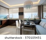modern elegant and luxurious... | Shutterstock . vector #570105451