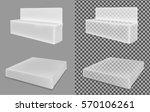 transparent package for... | Shutterstock .eps vector #570106261