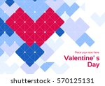 happy valentine's day and love... | Shutterstock .eps vector #570125131