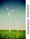wind energy turbine power... | Shutterstock . vector #57013952