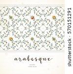 vector vintage decor  ornate... | Shutterstock .eps vector #570151291