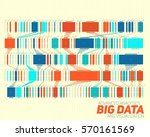 big data visualization.... | Shutterstock .eps vector #570161569