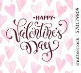 modern calligraphy for... | Shutterstock .eps vector #570179809