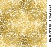 gold seamless pattern. vector... | Shutterstock .eps vector #570181135