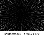 hyperspace speed travel... | Shutterstock .eps vector #570191479