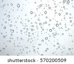 water drop pattern on glass | Shutterstock . vector #570200509