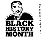 black history month stamp... | Shutterstock .eps vector #570202651