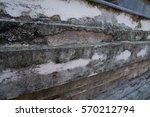 ancient concrete wall | Shutterstock . vector #570212794
