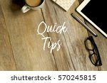 business concept. top view of... | Shutterstock . vector #570245815