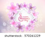 March 8 Women's Day. Beautiful...