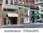 new york  usa   july 1  2013 ... | Shutterstock . vector #570261691