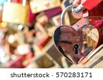 Love Lock At The Hohenzollern...