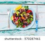 Mediterranean Salad With...