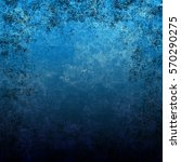 blue designed grunge texture....   Shutterstock . vector #570290275