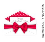 illustration envelope with... | Shutterstock . vector #570294625
