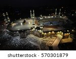 mecca  saudi arabia.   june 28... | Shutterstock . vector #570301879