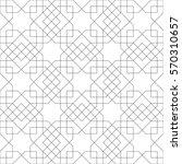 ethnic line islamic pattern.... | Shutterstock .eps vector #570310657