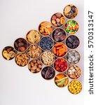 dried fruits  | Shutterstock . vector #570313147