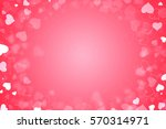beautiful valentine's day... | Shutterstock . vector #570314971