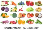 fruits and vegetables... | Shutterstock . vector #570331309