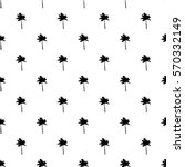 seamless pattern of small black ... | Shutterstock .eps vector #570332149