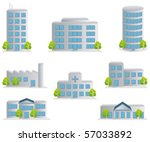 building icons set.... | Shutterstock .eps vector #57033892