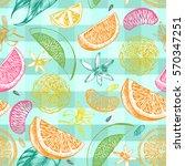 decorative seamless pattern... | Shutterstock .eps vector #570347251