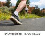 runner | Shutterstock . vector #570348139