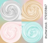 3d like dark smooth and silky... | Shutterstock .eps vector #570355867