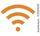 vector illustration of orange... | Shutterstock .eps vector #570359395