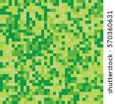 pixel mosaic seamless pattern.... | Shutterstock .eps vector #570360631