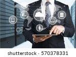 market. | Shutterstock . vector #570378331