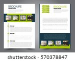 business brochure template.... | Shutterstock .eps vector #570378847