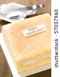 delicious cake   the main... | Shutterstock . vector #57037960