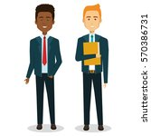business people avatars icon | Shutterstock .eps vector #570386731