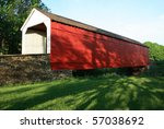 Mood's Covered Bridge Located...