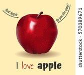 apple. vector illustration