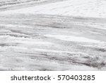 very dangerous freezing rain...   Shutterstock . vector #570403285
