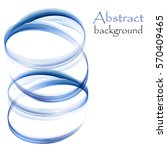 abstract background with blue... | Shutterstock .eps vector #570409465